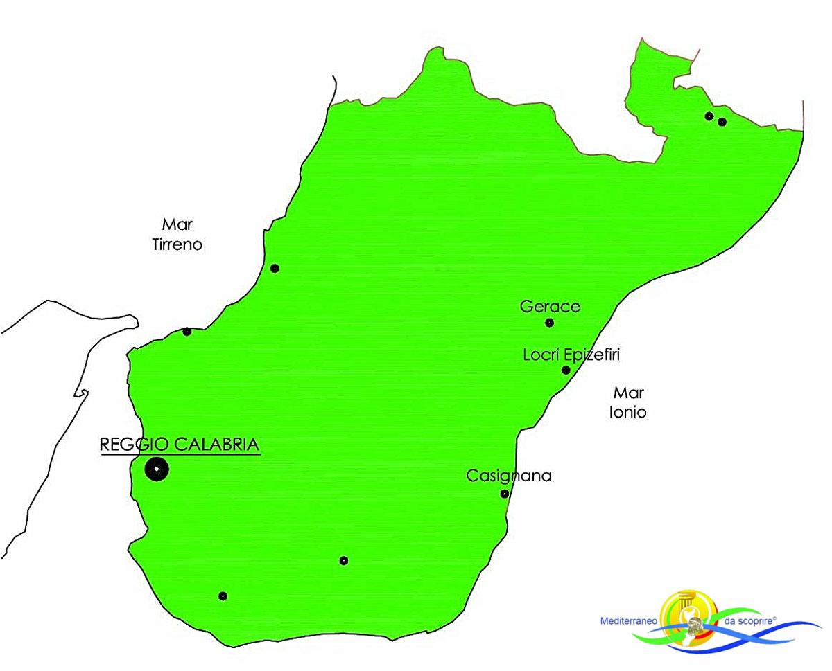 Mediterraneo da scoprire-Casignana-Villa-Romana-Locri-Epiefiri-Gerace